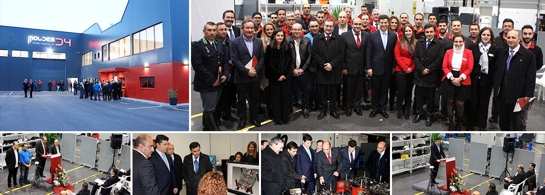 Moldes D4 held the inauguration ceremony of the new facilities.